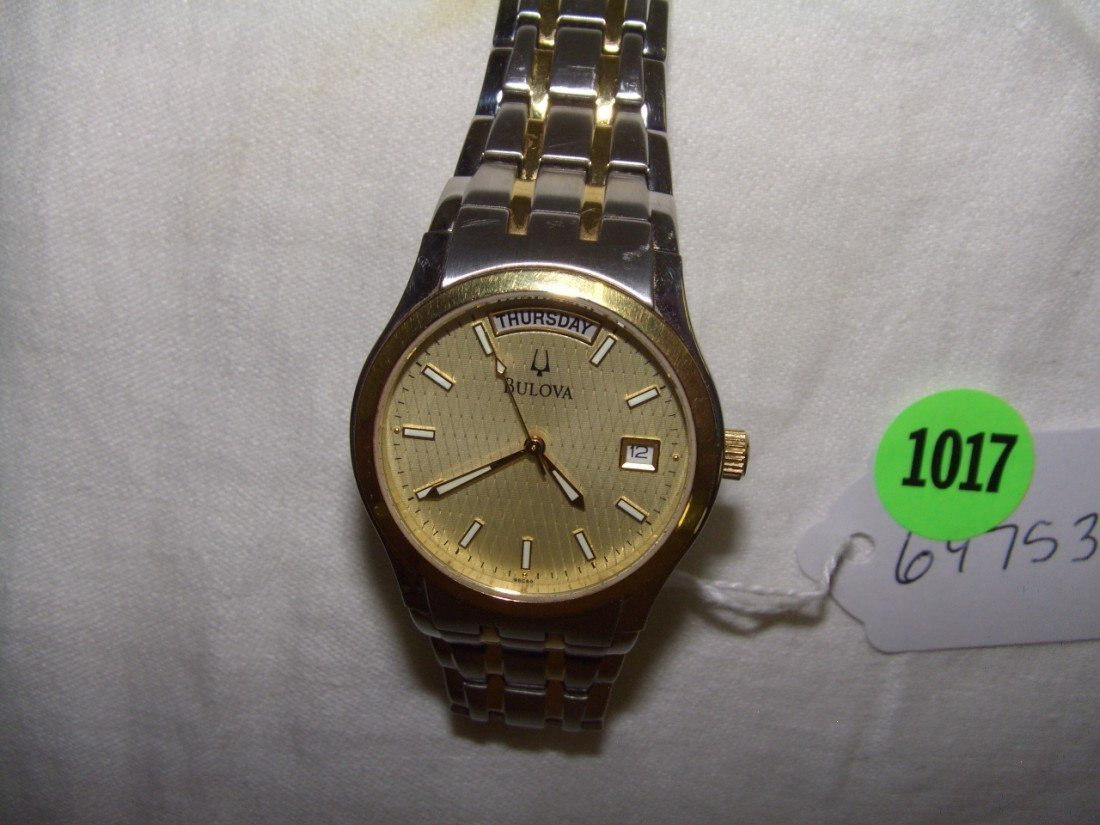 1017: vintage Man's (private estate)wristwatch Bulova T
