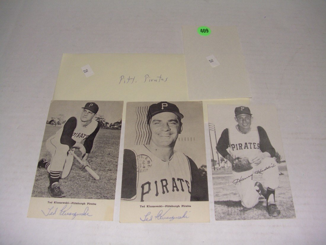 409: rare collection of 1950's (mostly pen signed) auto