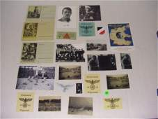 425 group of WWII German Nazi prints  photos cards