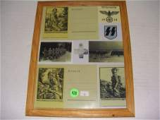 428 group of WWII German Nazi prints  photos cards