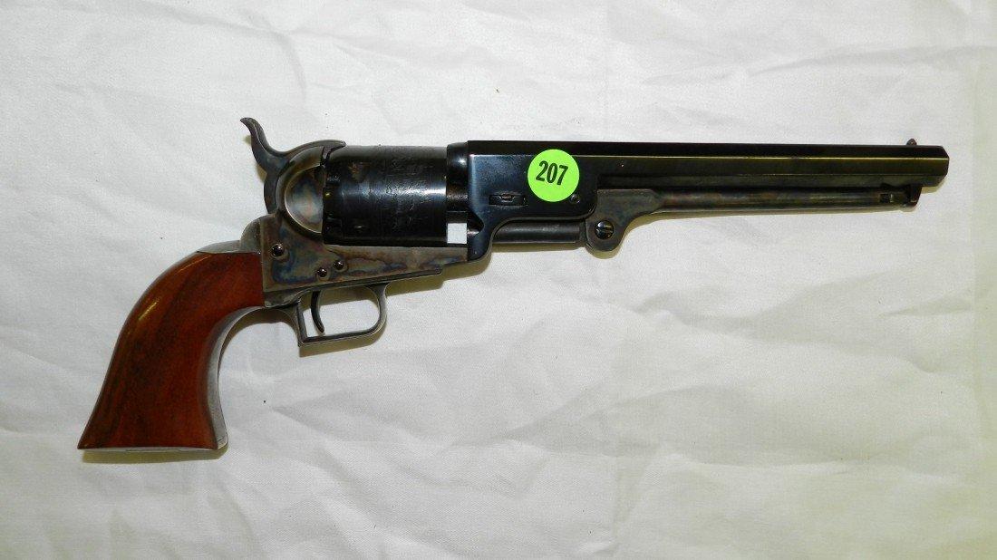 207: Colt Model 1861 Navy 36 Cal Black Powder Revolver