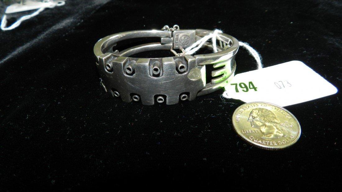 794: nice sterling (stamped) bracelet