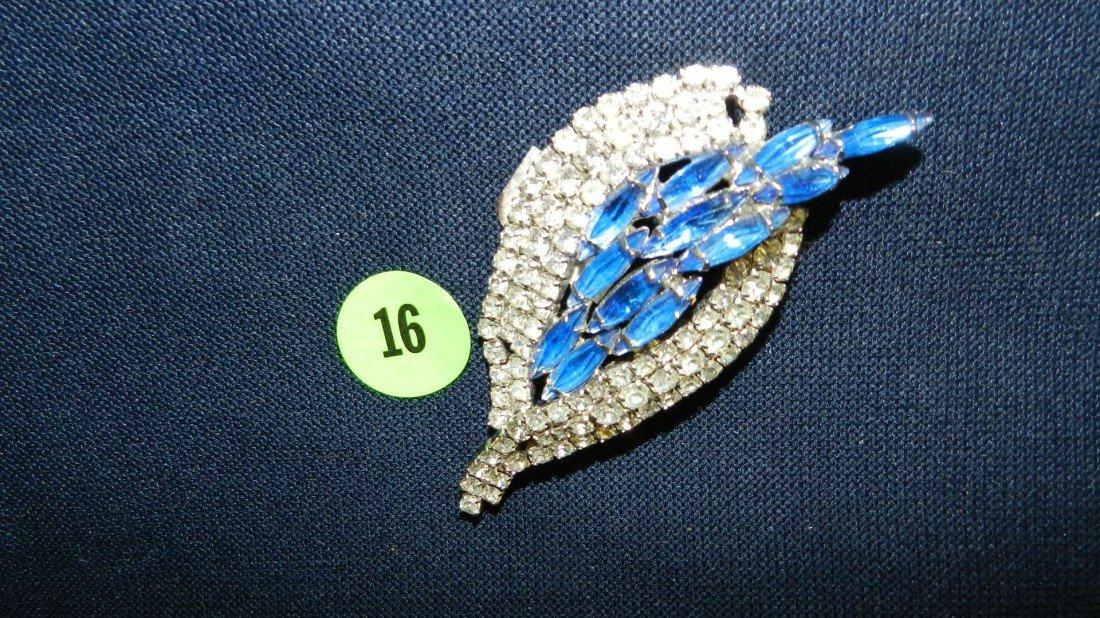 16: lovely rhinestone brooch