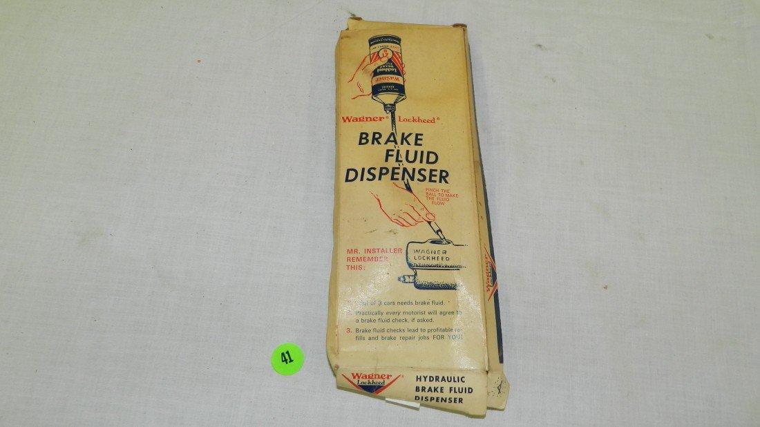 41: vintage Wanger advertising service station parts bo
