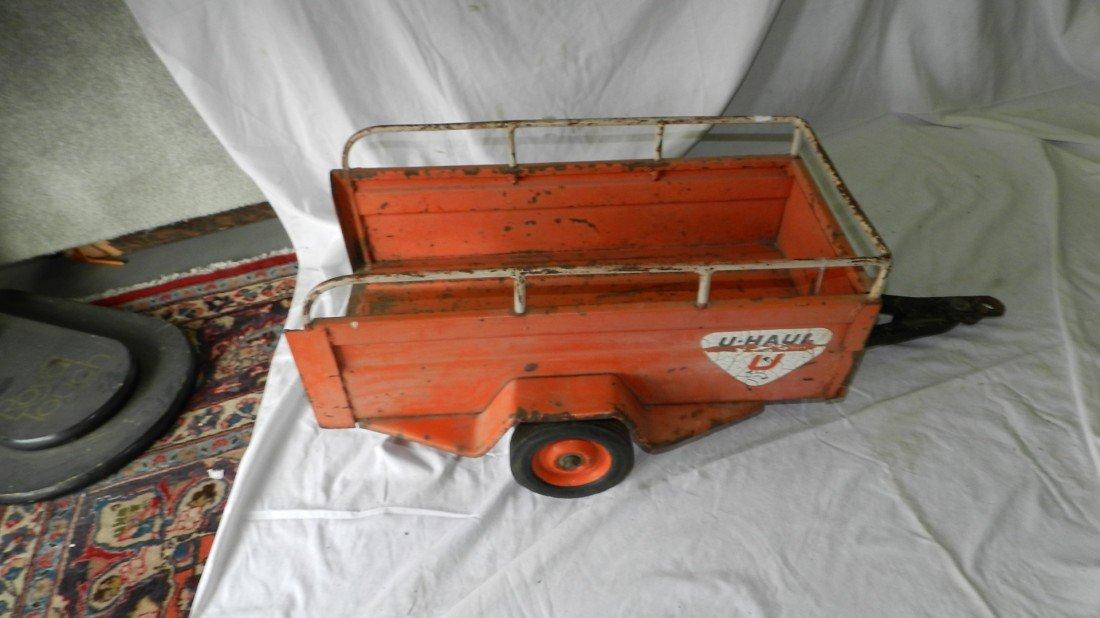 86: vintage U-Haul trailer for pedal car 1961 - 2