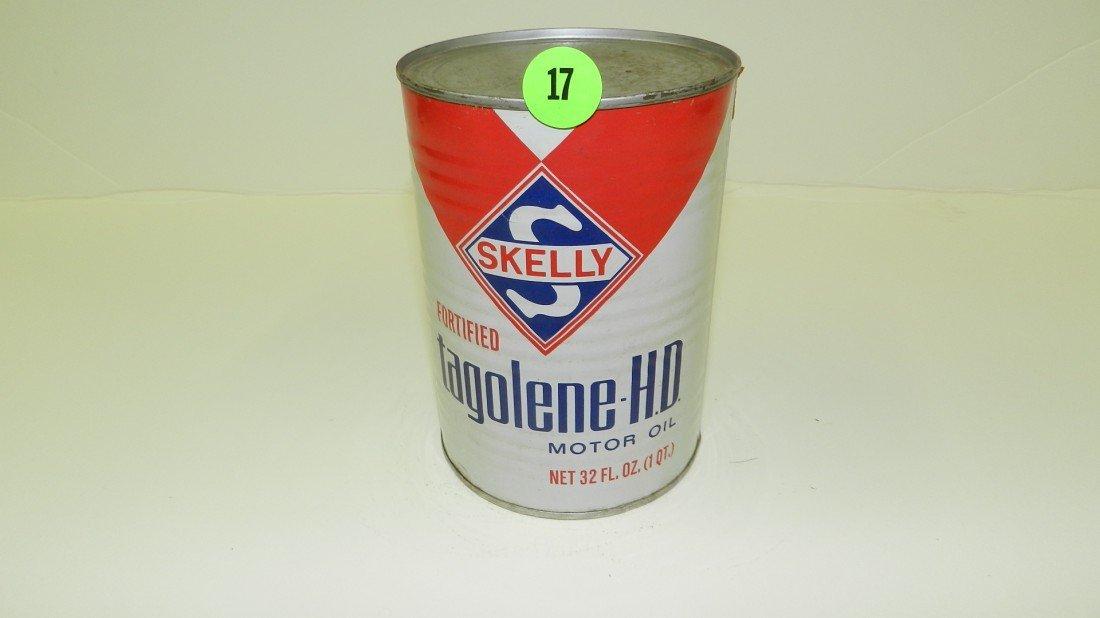 "17: vintage service station unopened oil can ""Prestone"""