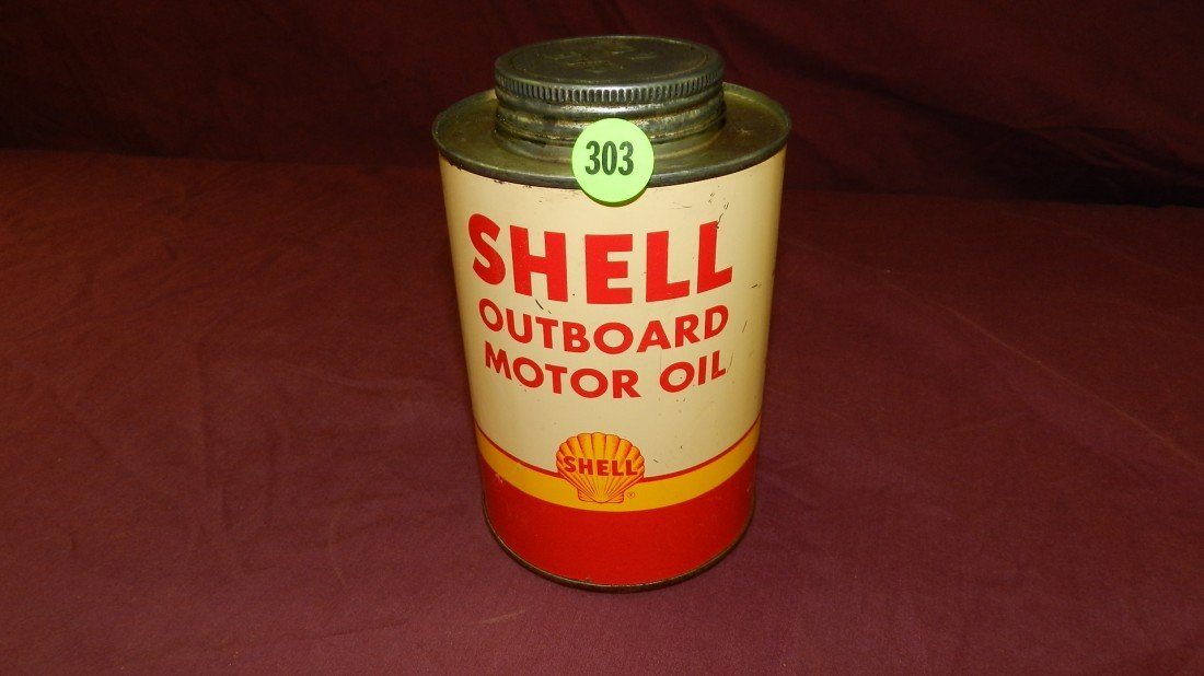 303: vintage service station collectible oil can