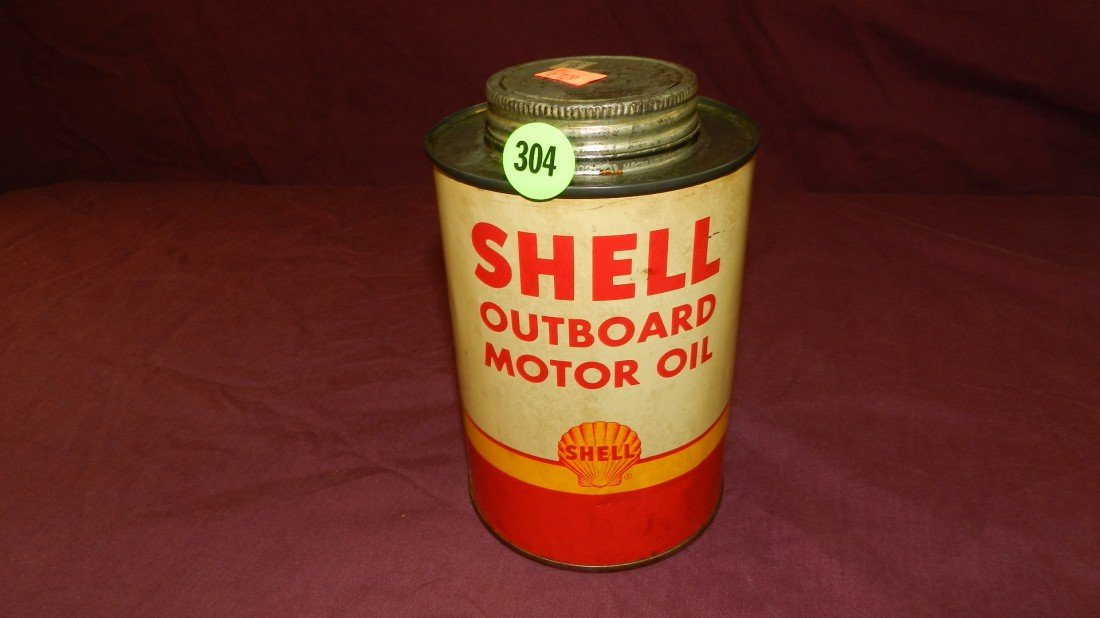 304: vintage service station collectible oil can