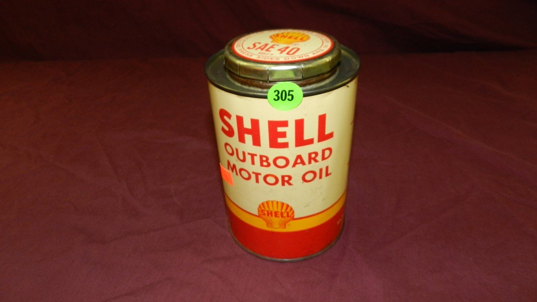 305: vintage service station collectible oil can