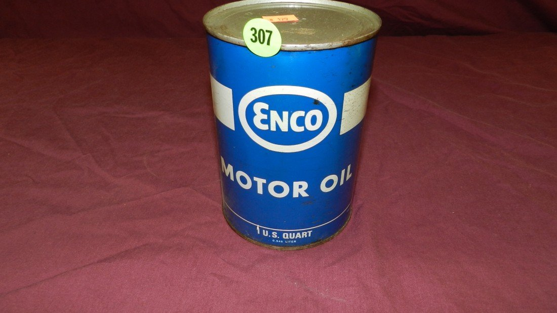 307: vintage service station collectible oil can