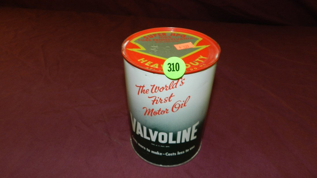 310: vintage service station collectible oil can