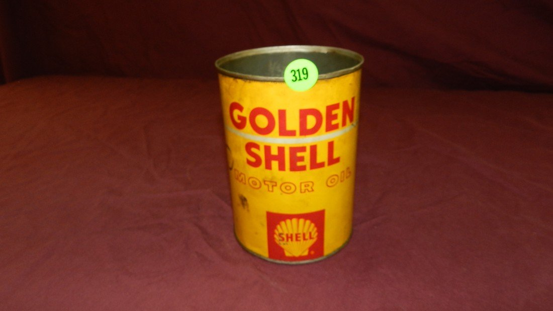 319: vintage service station collectible oil can
