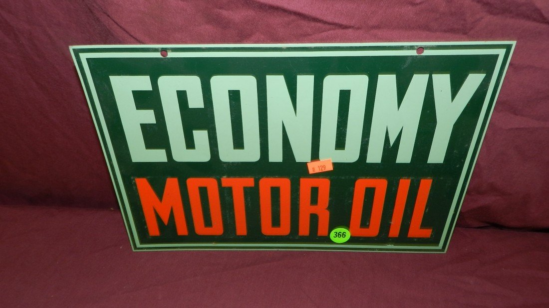 366: vintage service station collectible metal sign Eco