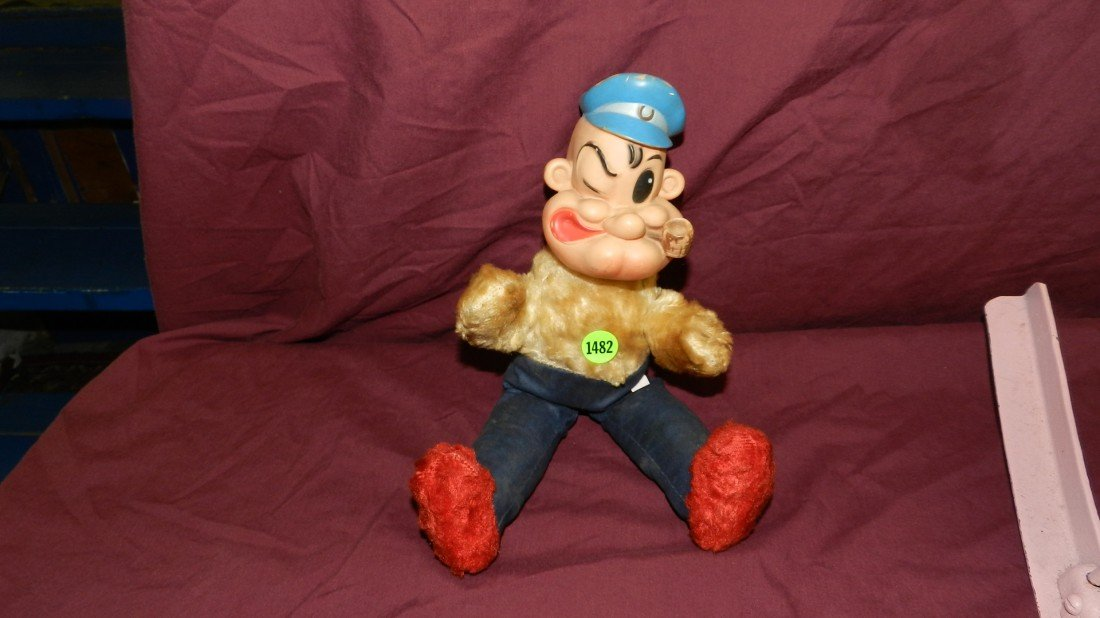 1482: vintage child's toy Popeye doll