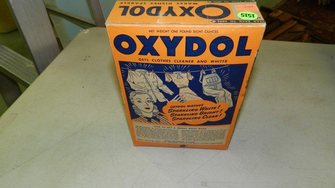 1515: original unopened vintage box of Oxydol soap