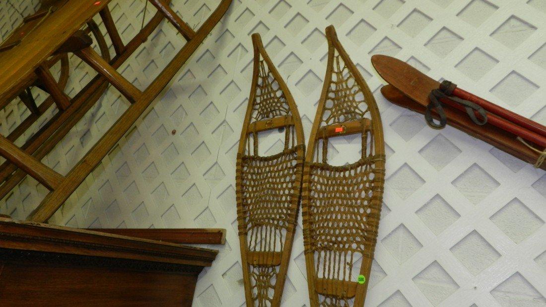 1591: Primitive snow shoes