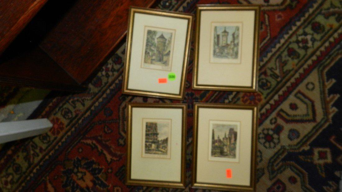 1600: 4 piece small prints