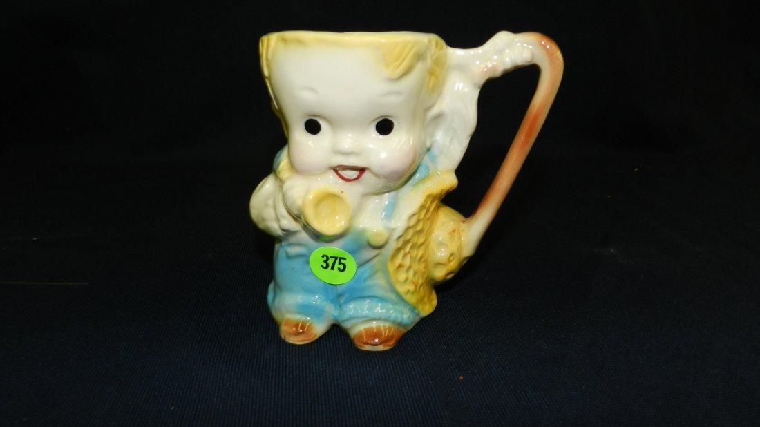 375: vintage Shawnee? boy pitcher