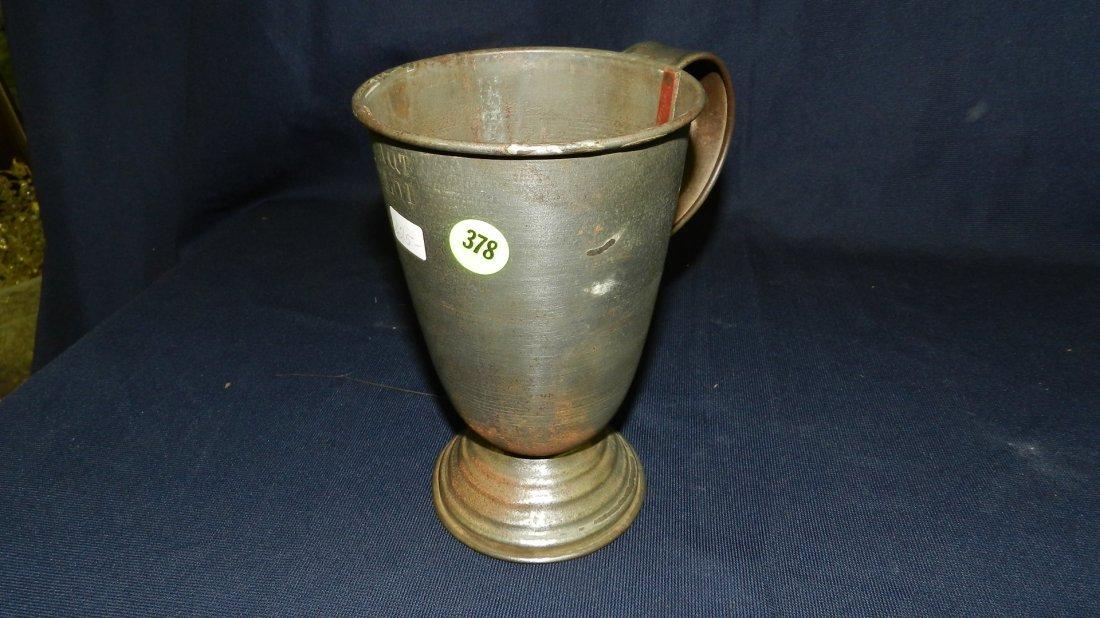 378: antique batter? / shake? pitcher