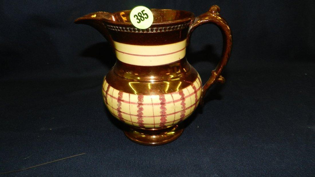 385: lusterware pitcher