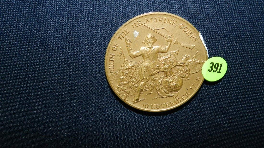 391: bronze coin / medal