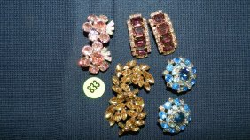 833: great collection of estate jewelry, earrings