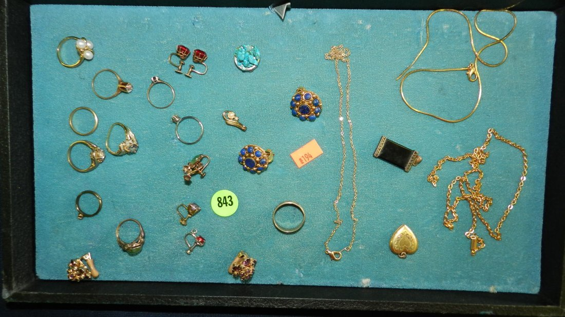 843: great collection of estate jewelry,