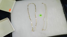 Great Collection Of Estate Jewelry, 2 Piece Gold (