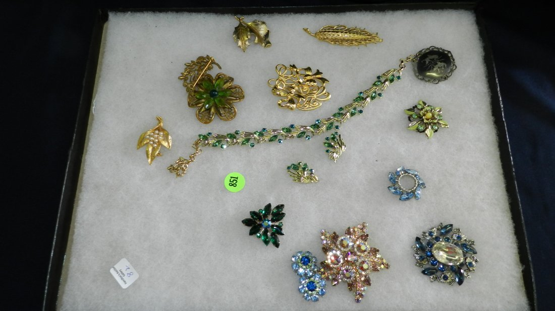 851: great collection of estate jewelry,