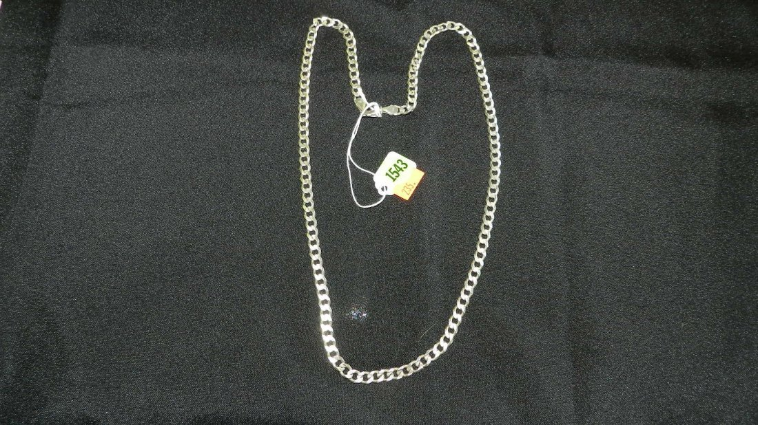 1543: heavy sterling (925) necklace
