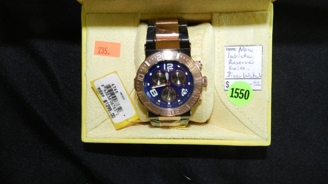 1550: super, mens Invicta Reserve- Diver,  wrist watch
