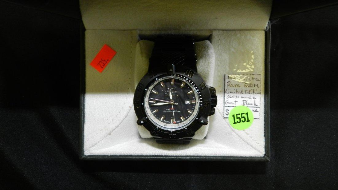 1551: super, mens Invicta limited edition 500M wrist wa