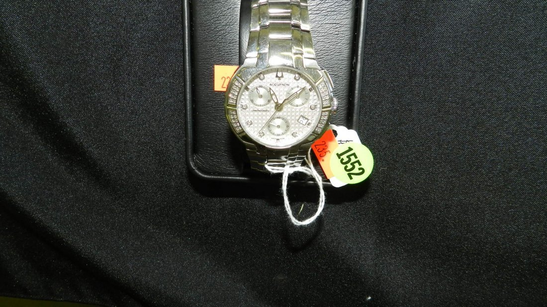 1552: super, mens Accutron 26E06 York wrist watch with