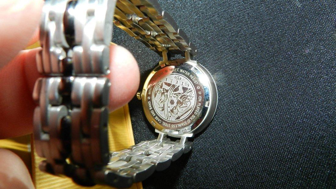 1713: vintage men's Berenger steel wrist watch - 3