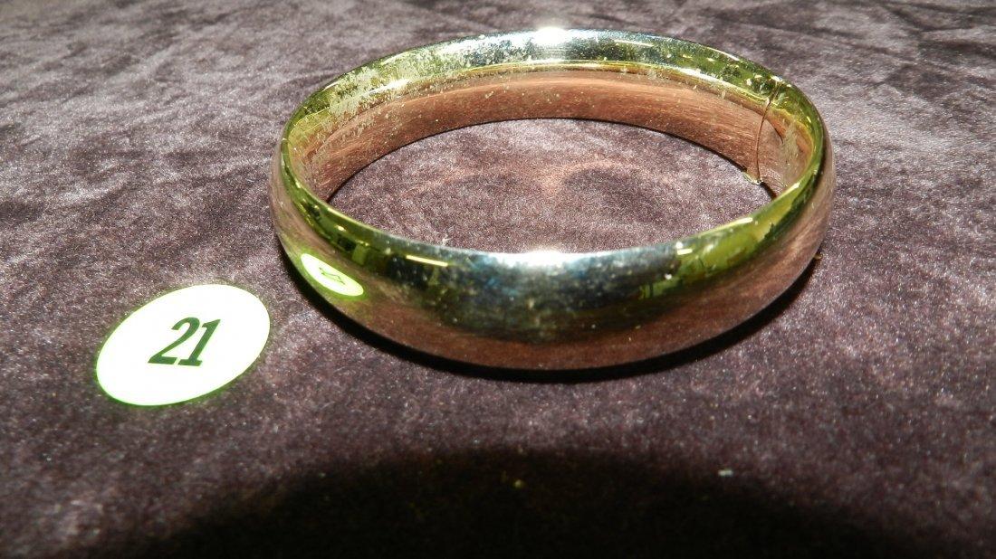 21: nice ladies gold (14KT) bangle bracelet TL gr's app