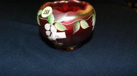 Original Fenton Hand Painted Bowl / Vase