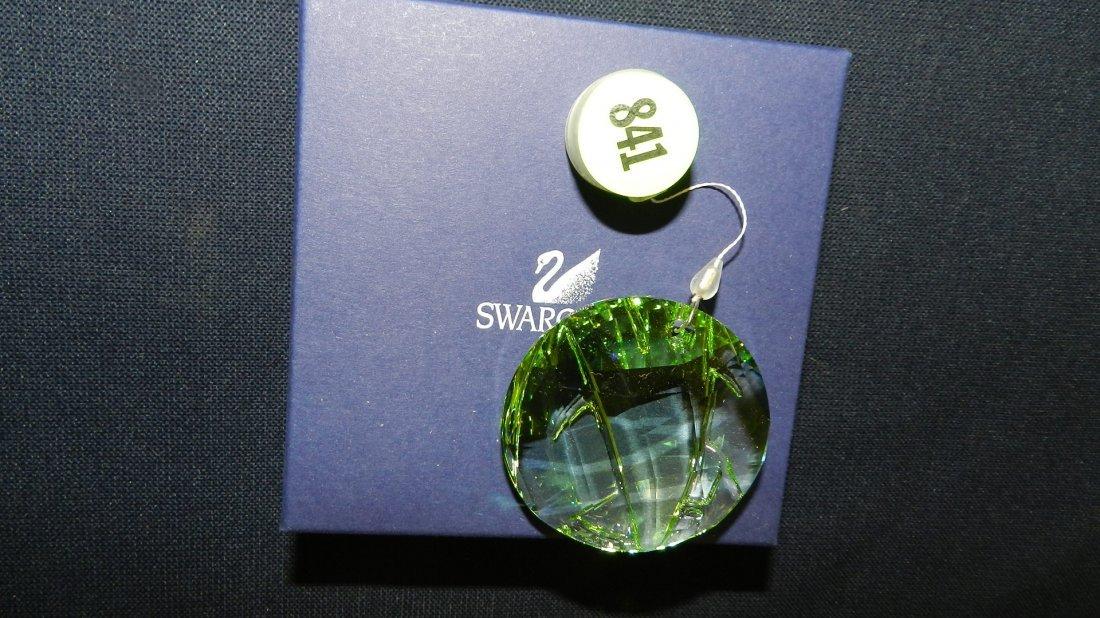 841: great stamped Swarovski ornament