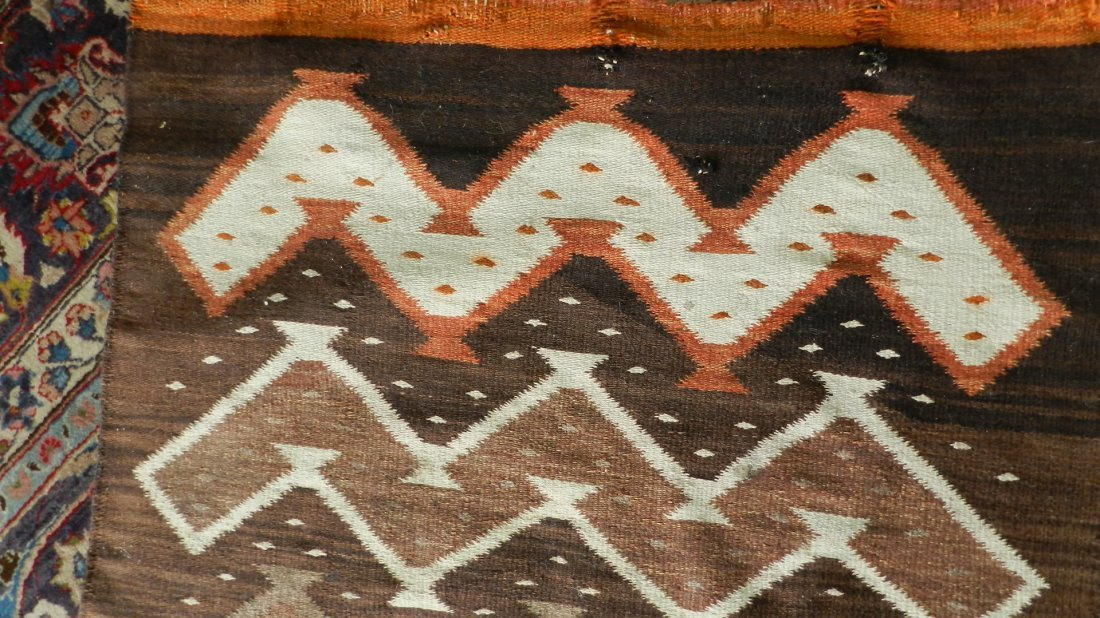 1000: great, vintage Native American hand woven Navajo  - 3