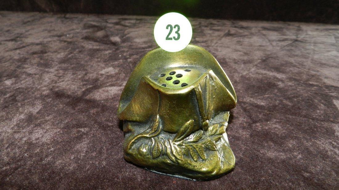 23: vintage (metal) hat pin holder, as seen