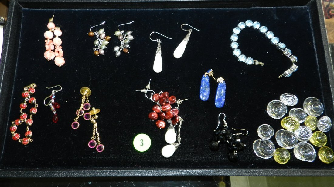 3: nice tray of estate jewelry (no tray)
