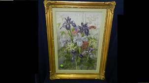 82 wonderful antique watercolor by Edith Isabel Barrow