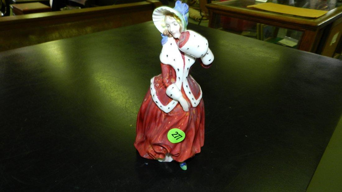 """277: original Royal Doulton figurine """"Christmas Morn"""