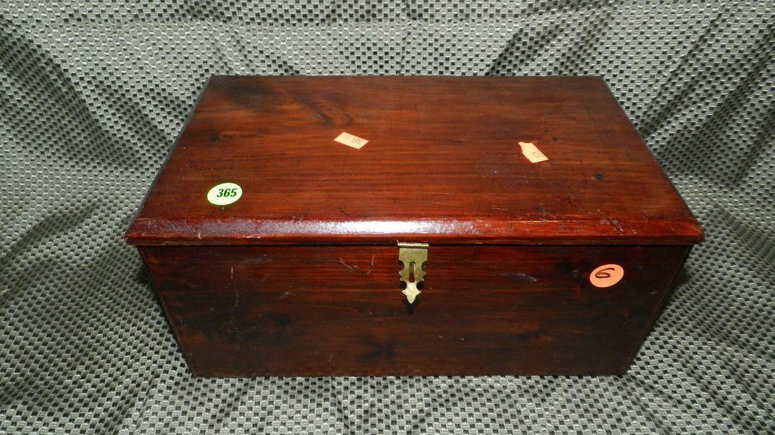 365: vintage cedar box