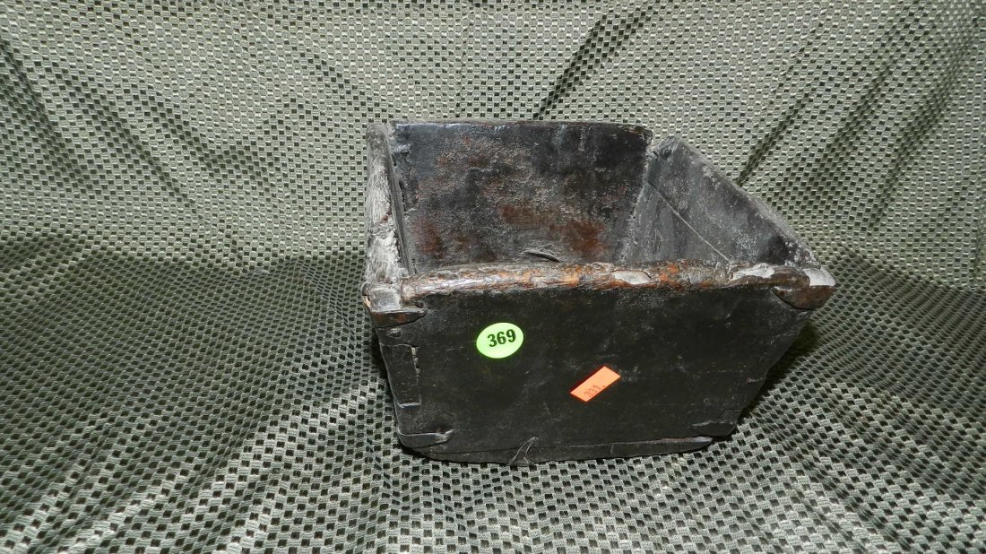 369: antique Asian handmade box