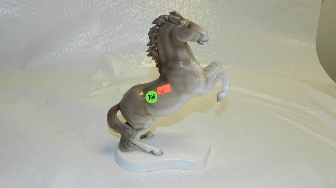 706: porcelain horse figure by Noritake