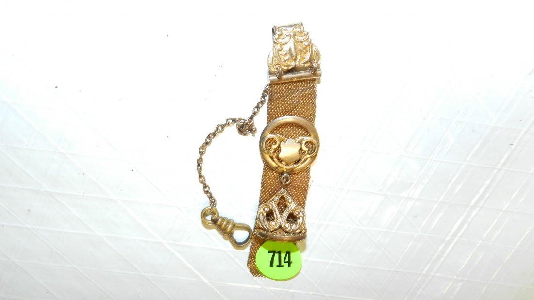 714: Victorian watch fob