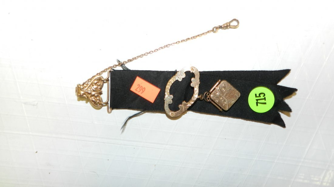 715: Victorian watch fob