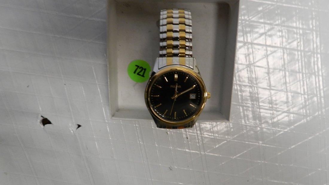 721: vintage men's wrist watch