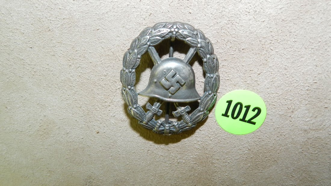 1012: very rare WWII Nazi German Condor Legion silver c