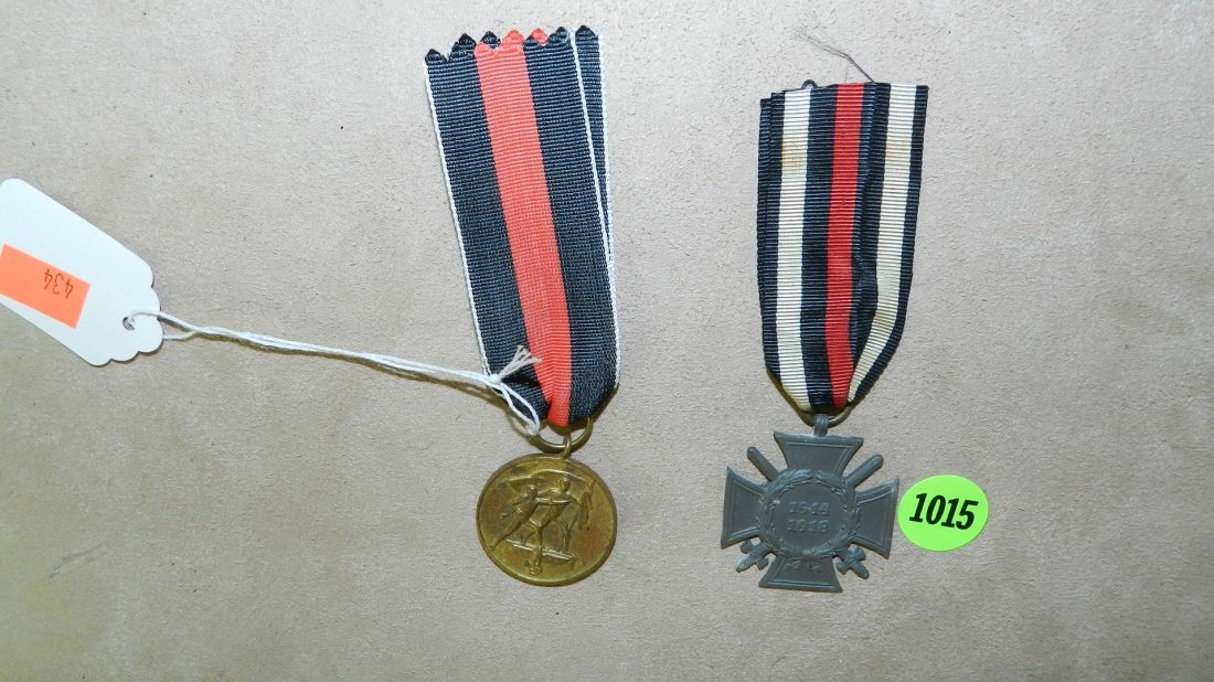 1015: WWII Nazi German Sudetenland medal Oct 1st 1938 &